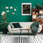 Décoration salon green : nouvelle tendance qui fait fureur !